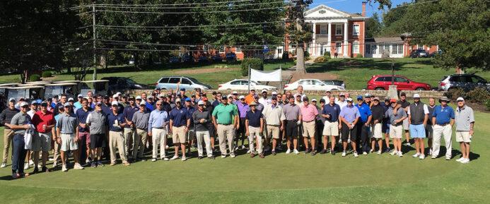 golfers group shot